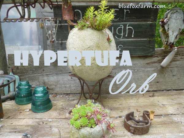 Hypertufa Orb
