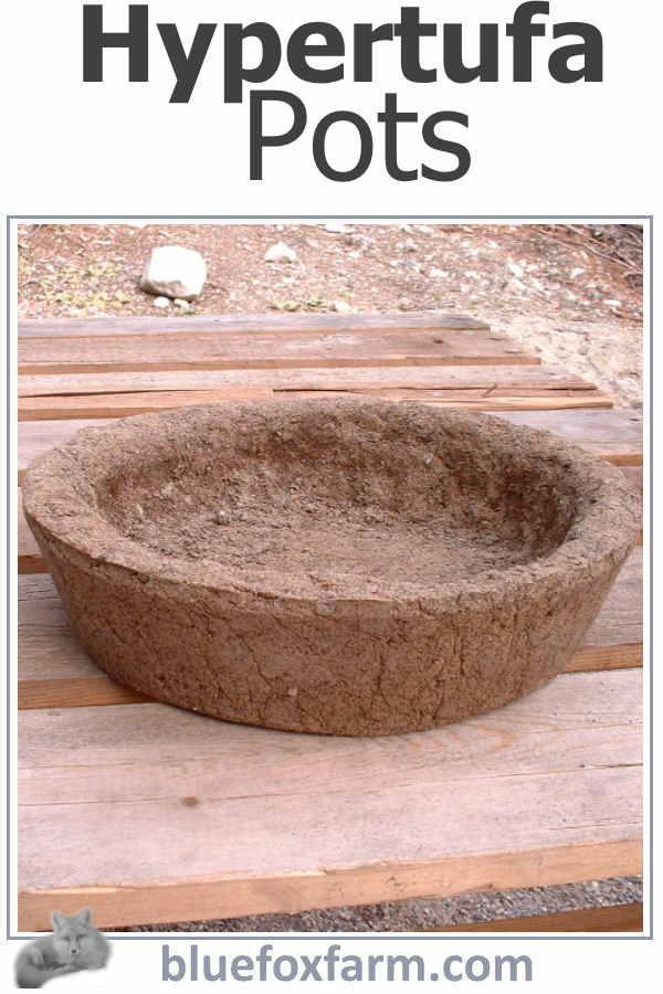 Hypertufa Pots