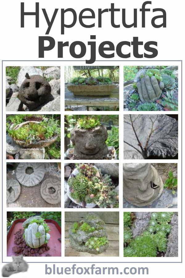 Hypertufa -  Projects & Inspiration...