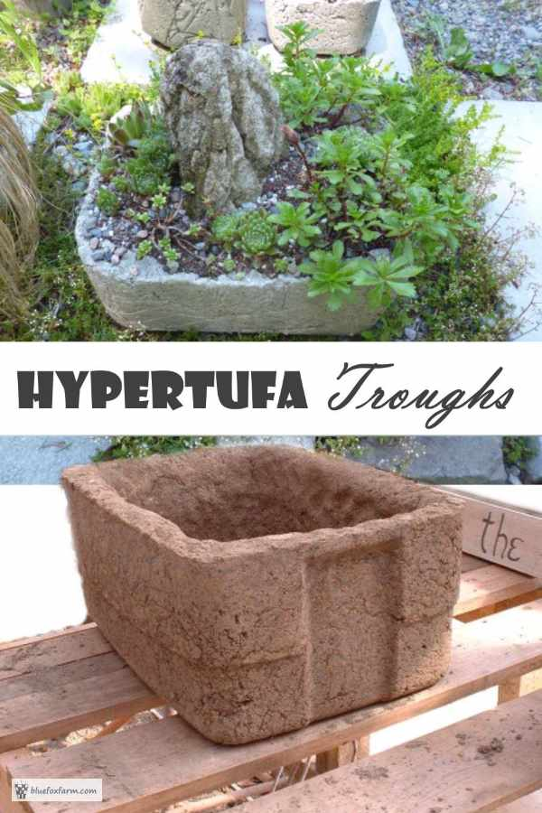 Hypertufa Trough - a mountain in miniature