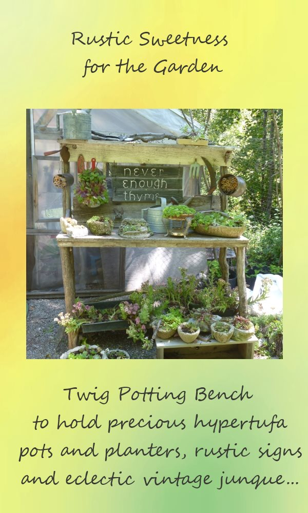 Rustic Potting Bench Plans