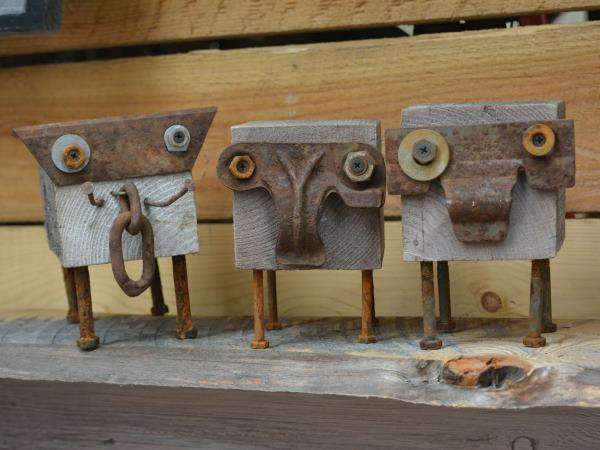 Rustic Elephants