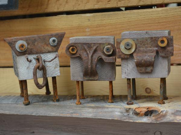 Rustic Elephants