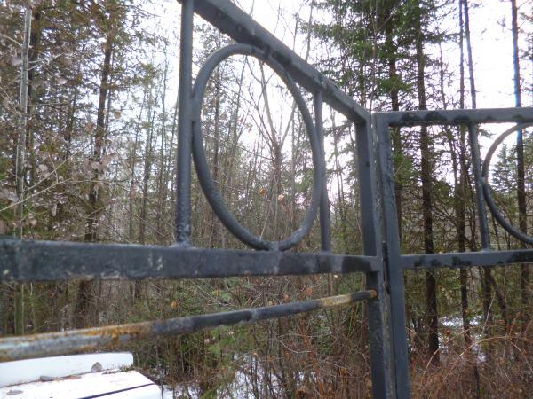Rustic Salvaged Trellis