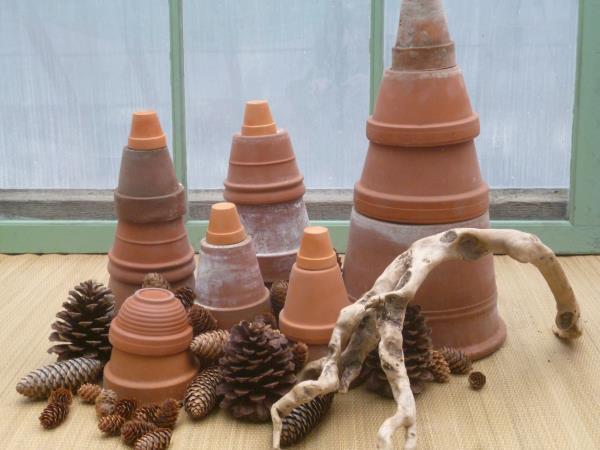 Terra Cotta Clay Pots