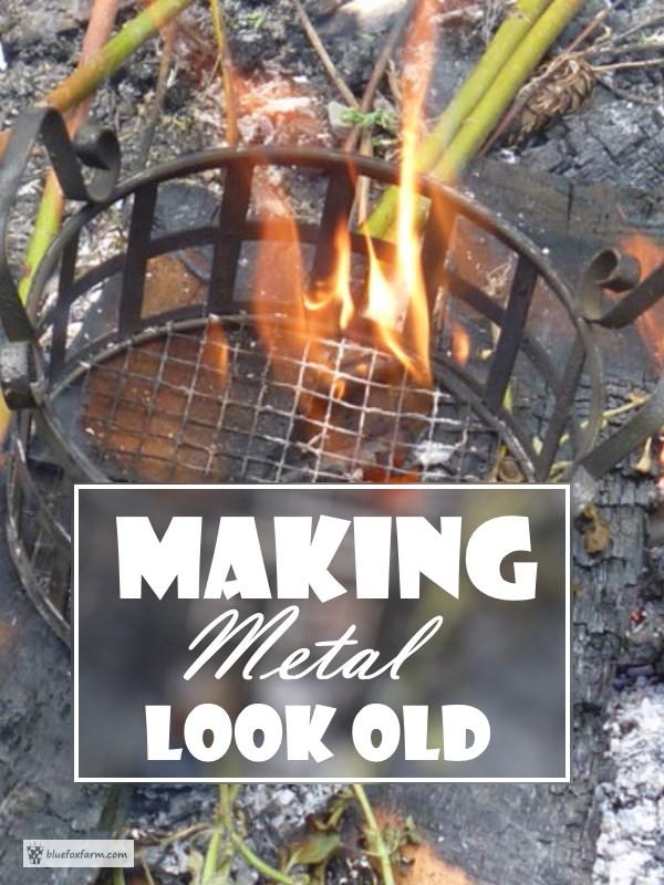 Making Metal Look Old...