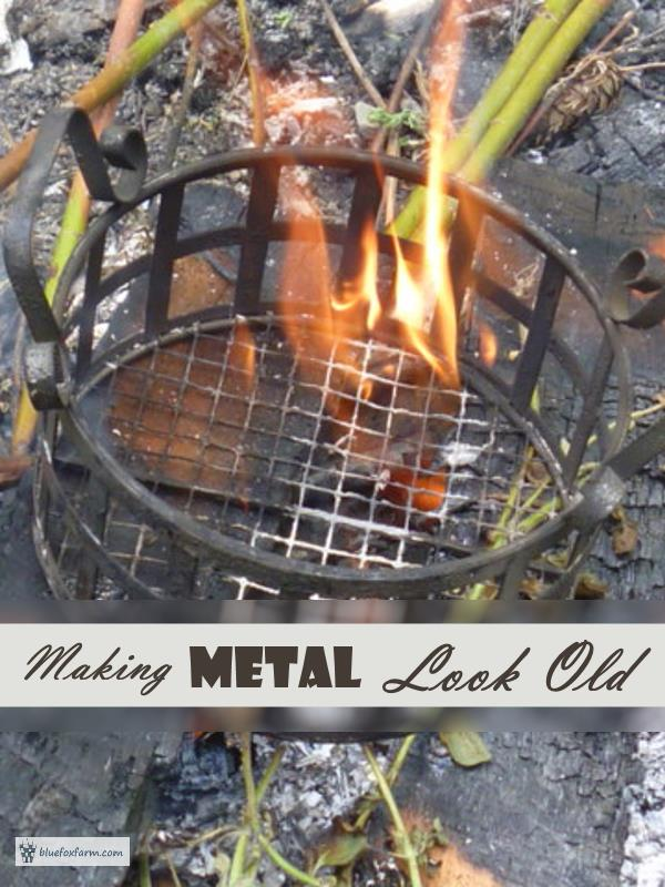 Making Metal Look Old