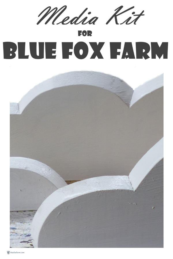 Advertise on Blue Fox Farm - use the media kit to make a decision