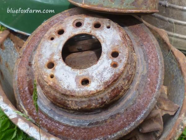 Rusty Brake Drum