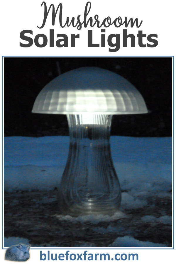 Mushroom Solar Lights add a special ambiance to the garden