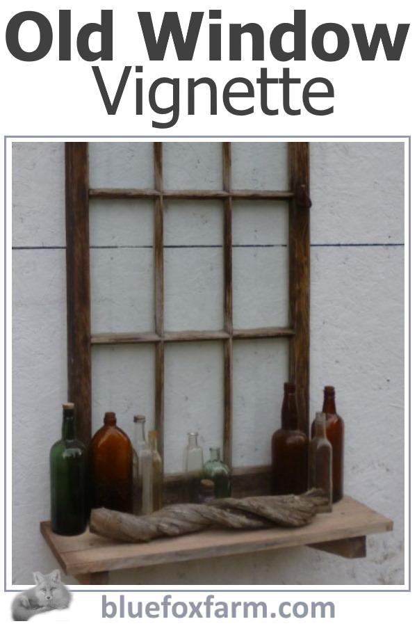 Old Bottles and Driftwood vignette