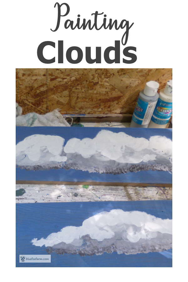 Painting Clouds isn't as difficult as it looks...