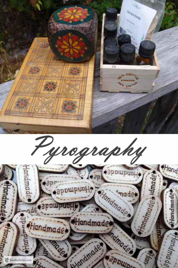 Pyrography - the art of wood burning