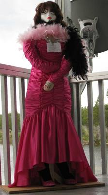 Red Lady Scarecrow