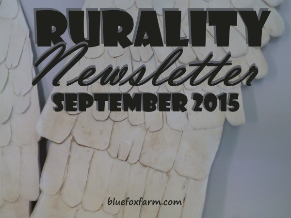 Rurality Issue #23 September 2015