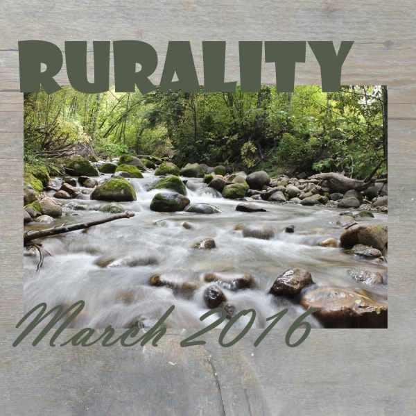 Rurality Issue March 2016