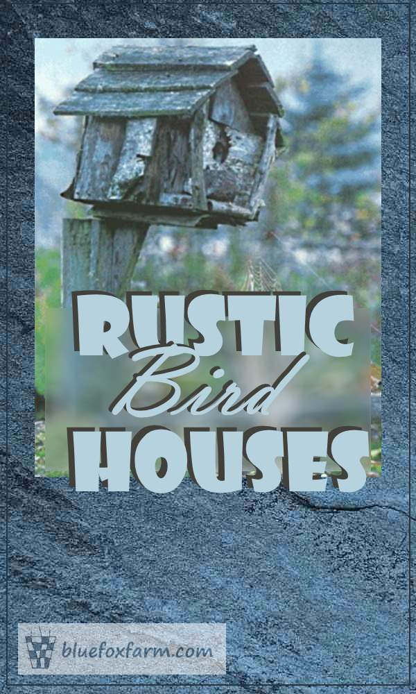 Rustic Bird House Round up...