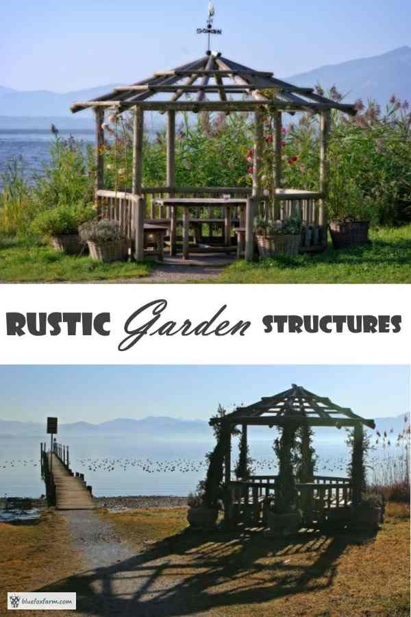 rustic garden structures what will your next project be - Garden Structures