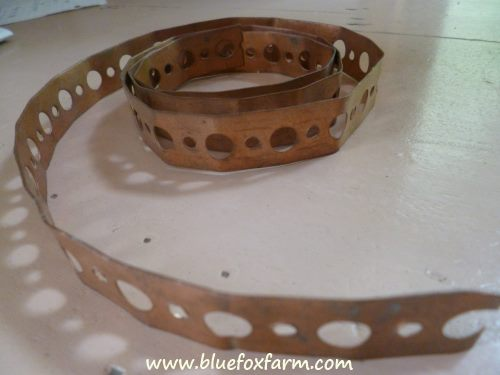 Copper strapping
