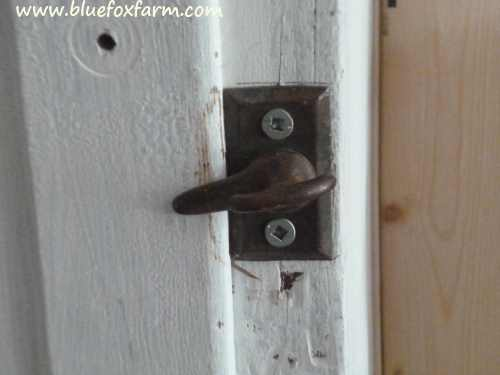 Locked on to rustic...