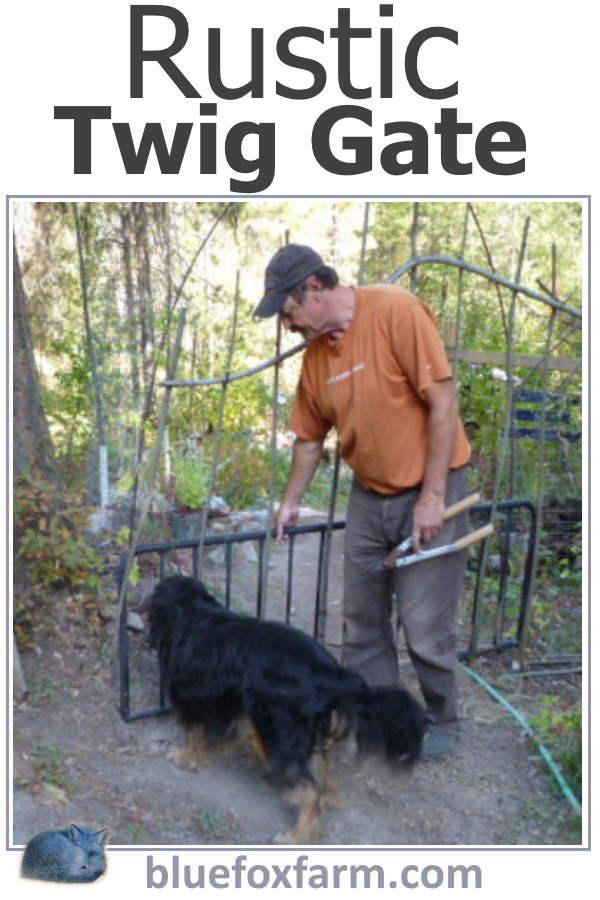 Rustic Twig Gate