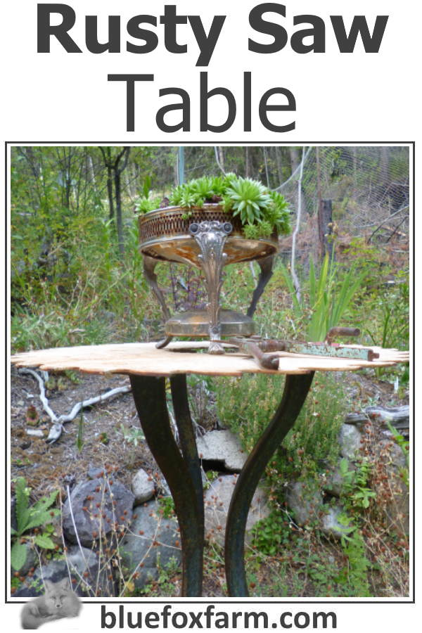 Rusty Saw Table
