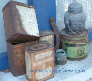 Rustic Crafts are all around at Blue Fox Farm