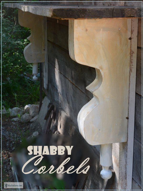 Shabby Corbels