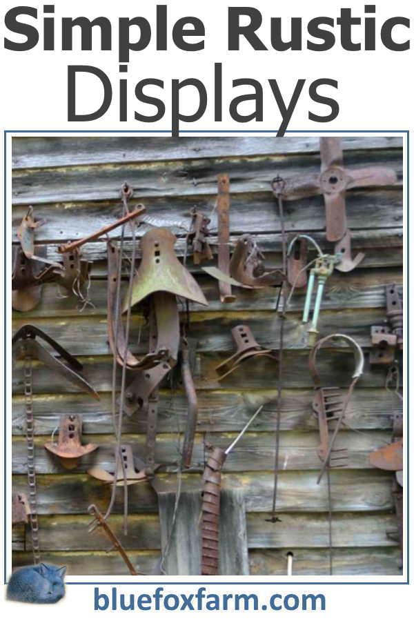 Simple Rustic Displays