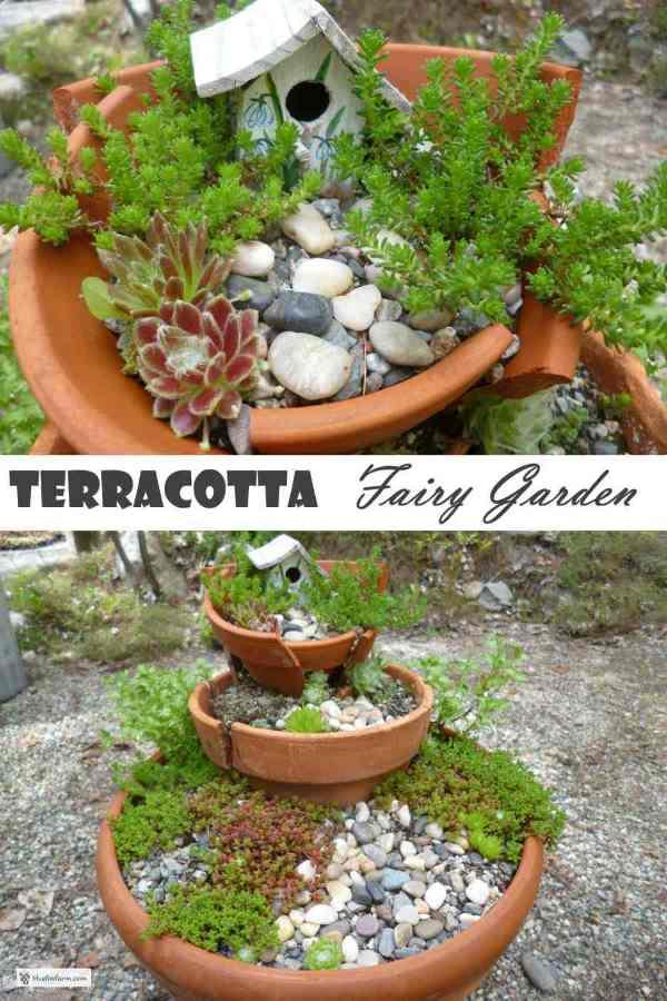 Tiny plants, miniature garden decor...