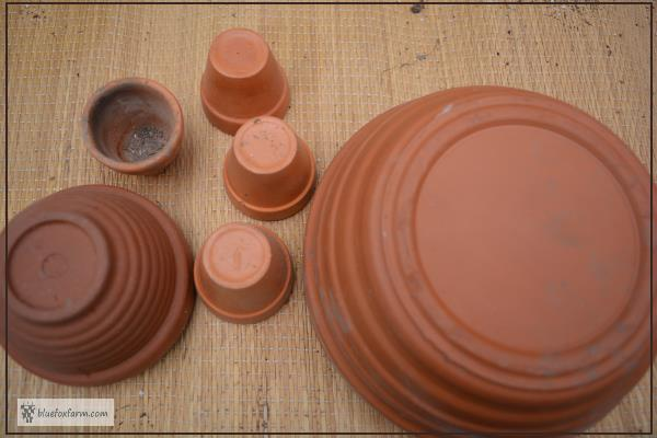 Terracotta Clay Pots without drain holes