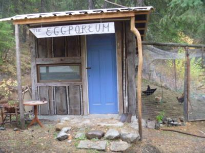 The Eggporeum Chicken House