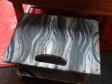 Barnboard Painted Footstool