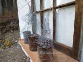 Chicken Wire Trees