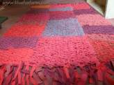 Knitted Rag Rug