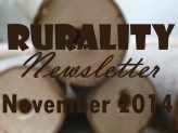 Rurality Issue #15 November 2014