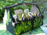 Rustic Paint Caddy
