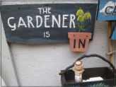 The Gardener is In Sign