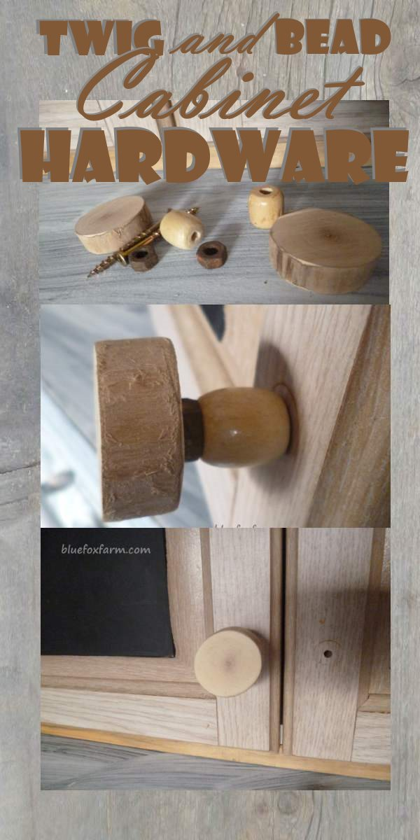Twig and Bead Cabinet Hardware