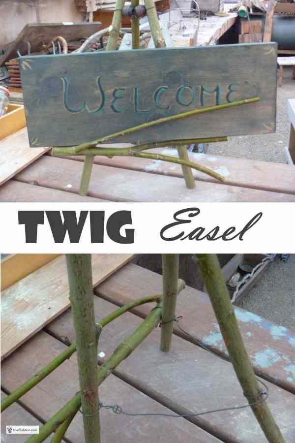 Twig Easel