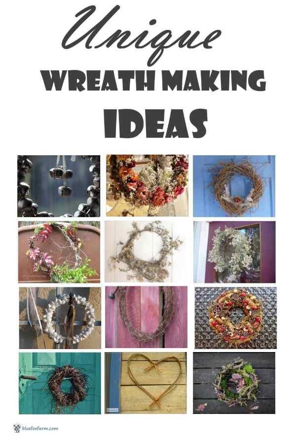 Unique Wreath Making Ideas