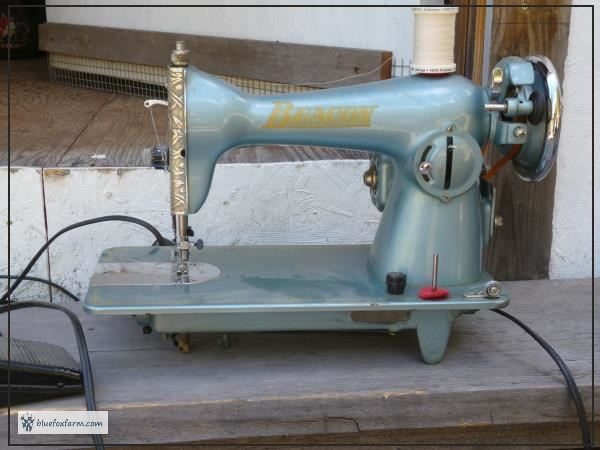Beacon Sewing Machine - after