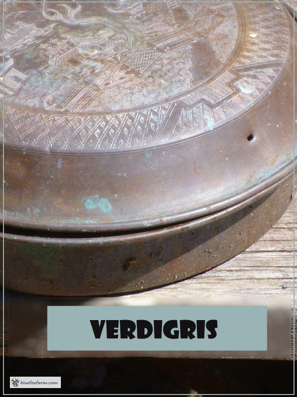 Aging Copper - Verdigris