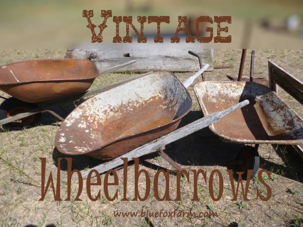 Vintage Wheelbarrows
