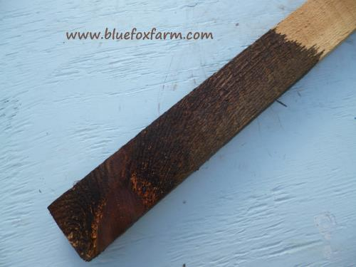 Although darker than the real thing, this is a close second to naturally weathered wood...