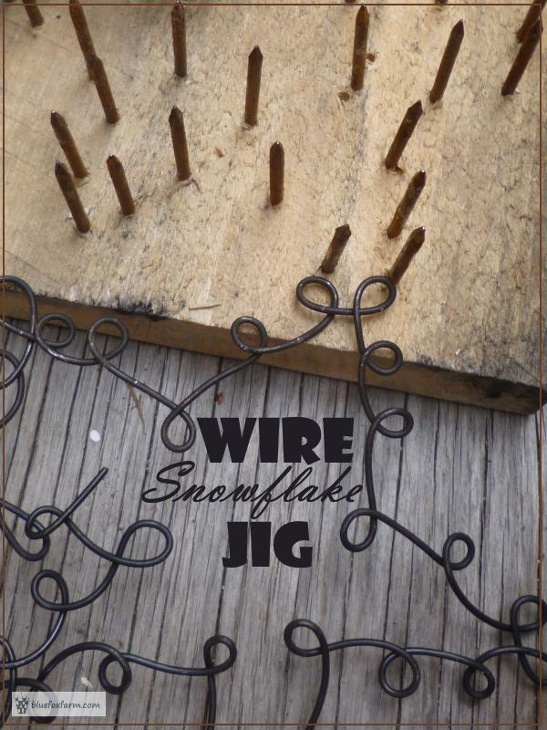 Wire Snowflake Jig