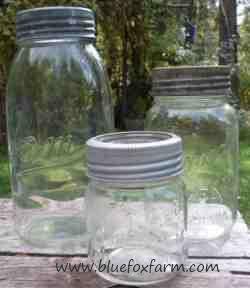 Antique Canning Jar Collectio