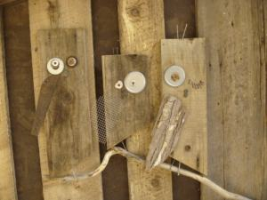 Make your own Mason Bee Houses from scraps...