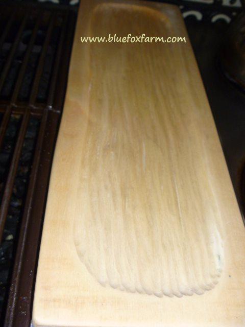 Treenware poplar cheeseboard