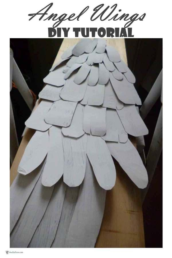 Angel Wings DIY Tutorial